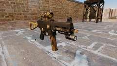 A metralhadora UMP45 Queda Camos