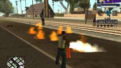 C-HUD new A.C.A.B para GTA San Andreas