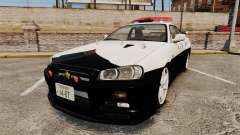 Nissan Skyline GT-R R34 Saitama Police