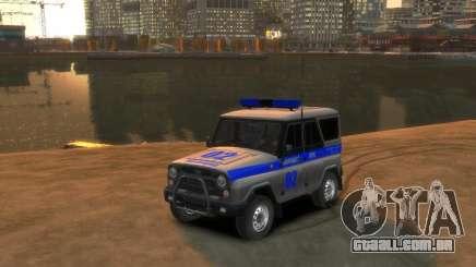 UAZ 315195 Caçador de Polícia para GTA 4