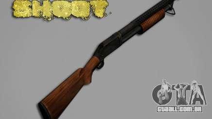 M1897 from Battle Territory Battery para GTA San Andreas