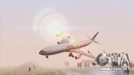 Airbus A340-300 China Eastern para GTA San Andreas