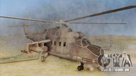 Mi-24D Hind from Modern Warfare 2 para GTA San Andreas