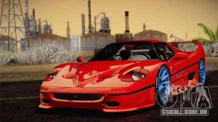 Ferrari F50 1995 para GTA San Andreas
