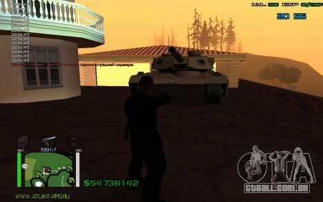 C-HUD by Bodie para GTA San Andreas