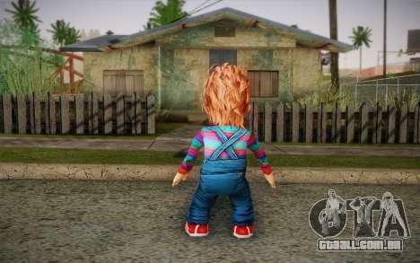 Chucky para GTA San Andreas segunda tela