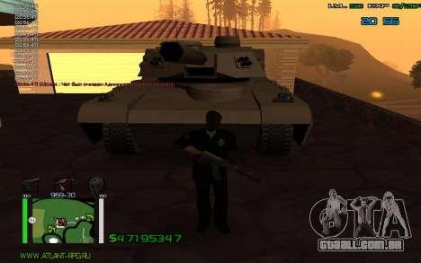 C-HUD by Bodie para GTA San Andreas terceira tela