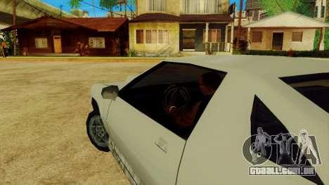 Girar a roda para carros padrão para GTA San Andreas quinto tela