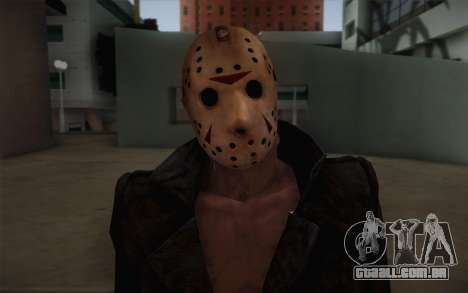 Jason Voorhees Modern Version para GTA San Andreas terceira tela