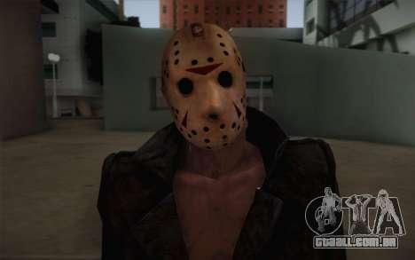 Jason Voorhees Modern Version para GTA San Andreas terceira tela