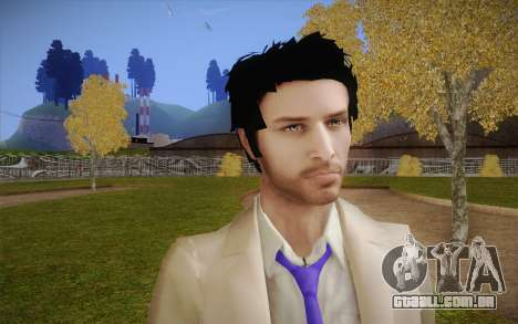 Castiel from Supernatural para GTA San Andreas terceira tela