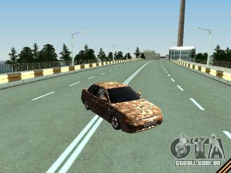 VAZ 2110 camuflagem para GTA San Andreas