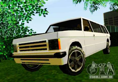 Huntley Limousine para GTA San Andreas