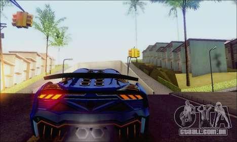 Zentorno GTA 5 V.1 para GTA San Andreas vista direita
