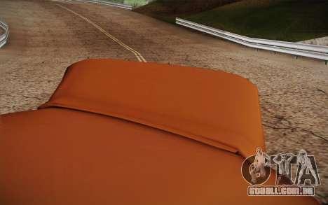 Peugeot 306 GTI 41 NS 681 para GTA San Andreas vista traseira