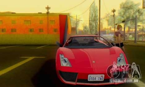 Pegassi Vacca para GTA San Andreas esquerda vista