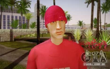Eminem para GTA San Andreas terceira tela