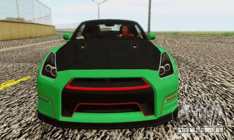 Nissan GTR Streets Edition para GTA San Andreas vista direita