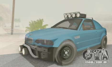 BMW M3 E46 Offroad Version para GTA San Andreas
