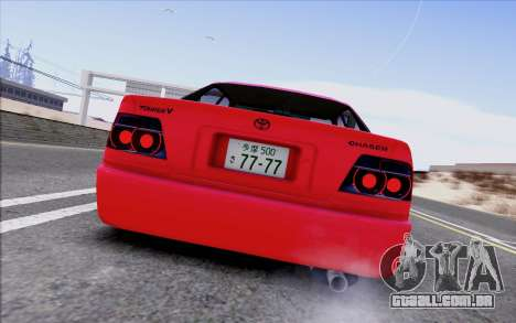Toyota Chaser Tourer V para GTA San Andreas vista traseira
