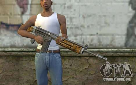 R91 Assault Rifle para GTA San Andreas terceira tela