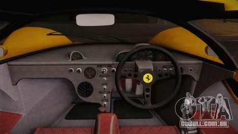 Ferrari 330 P4 1967 IVF para GTA San Andreas vista direita