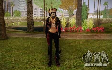 Harley Quinn para GTA San Andreas