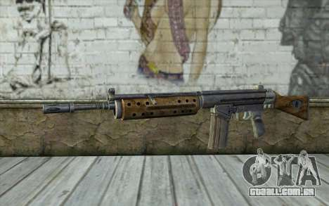 R91 Assault Rifle para GTA San Andreas