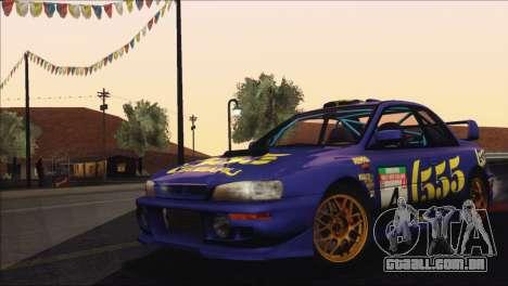 Subaru Impreza 22B STi 1998 para o motor de GTA San Andreas