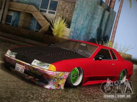 Elegy JDM Style para GTA San Andreas esquerda vista