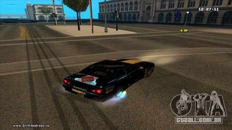 Elegy-Hotring para GTA San Andreas esquerda vista