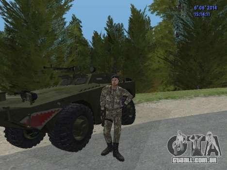 USSR Special Forces para GTA San Andreas sexta tela