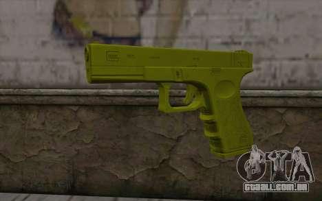 Golden Glock 18C para GTA San Andreas