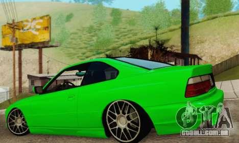BMW 850CSI 1996 para GTA San Andreas esquerda vista