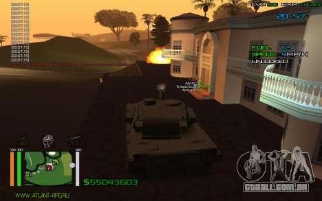 C-HUD by Bodie para GTA San Andreas segunda tela