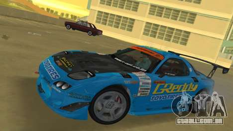 Mazda RX7 FD3S RE Amamiya G-Reddy para GTA Vice City deixou vista