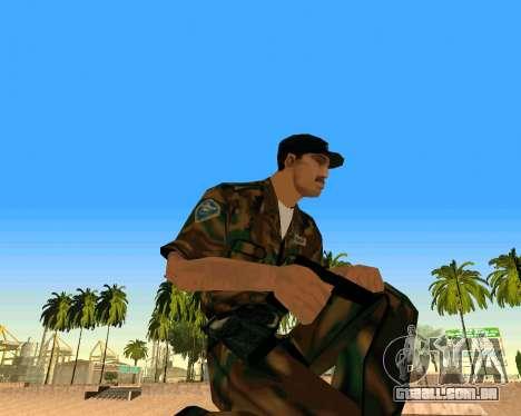 Glock из Cutscene para GTA San Andreas segunda tela