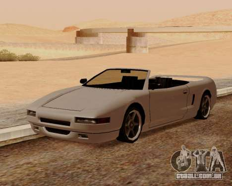 Infernus Conversível para GTA San Andreas