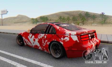 Nissan 300ZX Fairlady para vista lateral GTA San Andreas
