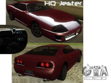 New Jester HQ para GTA San Andreas