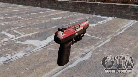 Arma FN Cinco sete LAM Vermelho urbana para GTA 4 segundo screenshot