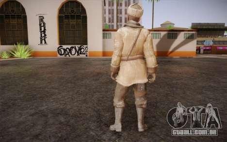 Viktor Reznov из CoD: Black Ops para GTA San Andreas segunda tela