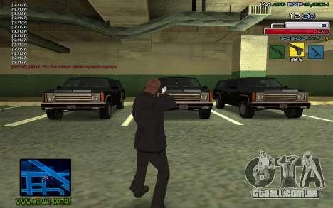 C-HUD SampHack para GTA San Andreas terceira tela