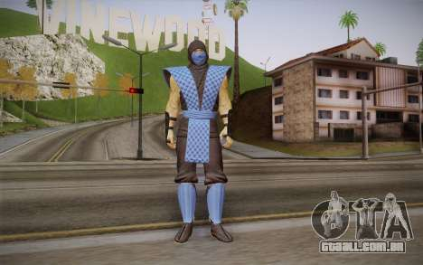 Classic Sub Zero из MK9 DLC para GTA San Andreas