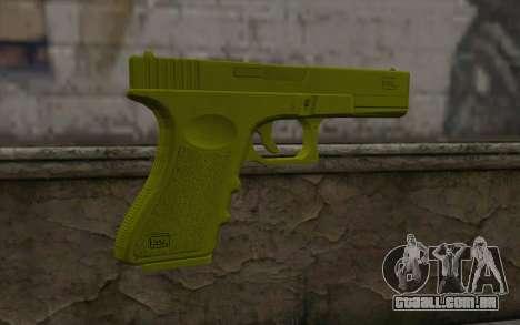 Golden Glock 18C para GTA San Andreas segunda tela