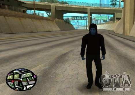 O poder do novo homem-aranha 2 para GTA San Andreas por diante tela