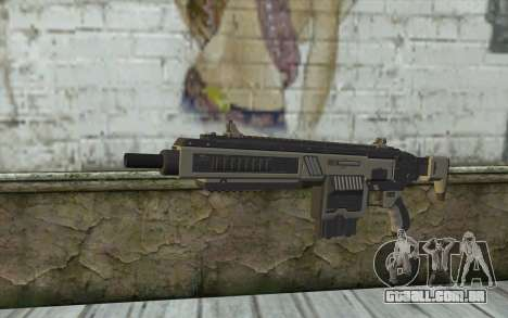 NS-11A Assault Rifle from Planetside 2 para GTA San Andreas