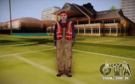 Trabalhador de estrada para GTA San Andreas