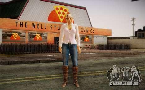 Sarah from DoA para GTA San Andreas