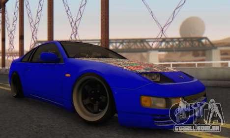 Nissan 300ZX Fairlady para GTA San Andreas vista direita